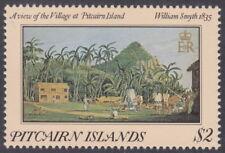 PITCAIRN ISLANDS - 1985 $2 Paintings 1835* Date ERROR - UM / MNH