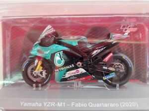 1/43. #75.de. YAMAHA YZR-M1. FABIO QUARTARARO.(2020). MOTOS DEL MUNDIAL