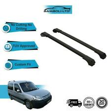 CITROEN Berlingo Furgone Grigio con serratura anti furto CROSS BARRE PORTAPACCHI RAILS 08-18