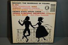 Mozart The Marriage of Figaro Vienna State Opera Choir and Vienna Symphony 3LPs