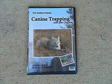 DVD, Chagnon-Canine Trapping with John Chagnon, coyote, fox, traps