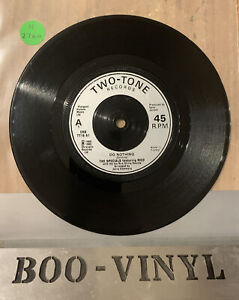 """The Specials - Do Nothing 1980 Two Tone Ska 7"""" Vinyl Record Ex Con"""