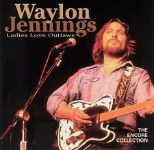 Ladies Love Outlaws [Compilation] by Waylon Jennings (Cassette, Nov-1997, BMG...