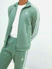LG  adidas Originals MEN'S  BECKENBAUER TRACKSUIT  JACKET & PANTS  Green  LAST1