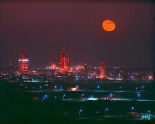 New 11x14 NASA Photo: Night View of Missile Row at Cape Canaveral, Florida