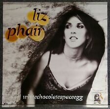 Liz Phair Whitechocolatespaceegg 1998 PROMO POSTER 2