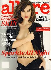 Glamour December 2012 Keira Knightley, Sparkle All night party Tips VG 041816DBE