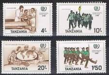 Tanzania postfris 1986 MNH 288-291 - Unicef 50 Year