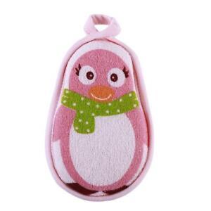 Animal Scrub Sponge Baby Bath Gloves Infant Toddler Cute Bathing Accessories P3