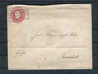 Ganzsachenumschlag Preussen Ein Silbergroschen Seehausen-Förderstedt - b3732