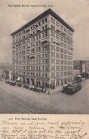 Postcard First National Bank Building Birmingham Alabama AL