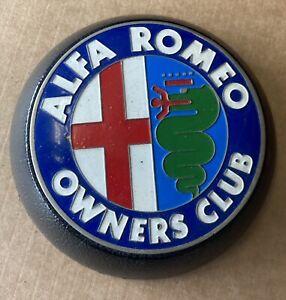 Alfa Romeo Owners Club Steering Wheel Badge
