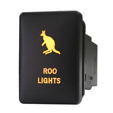 12V Push switch 914O ROO LIGHTS For Toyota RAV4 Tacoma Highlander LED amber 3A