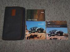 2014 Jeep Wrangler Owner Operator User Manual Sport Unlimited Sahara Rubicon