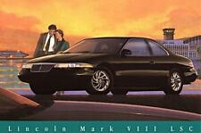 Old Print.  1995 Lincoln Mark VIII LSC Auto Ad