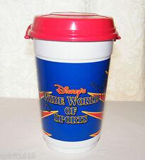 Disney Wide World of Sports Pre ESPN Integration- Popcorn Bucket w/ Handle & Lid