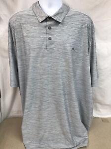 NWOT Tommy Bahama IslandZone Polo Shirt - Heather Gray- 4XLT