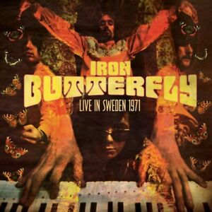 Iron Butterfly - Live in Sweden 1971 CD NEW