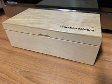 Wooden Stereo Condenser Microphone Box Fits Neumann KM184 Schoeps Gefell
