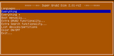 Super Grub2 Disk linux OS live USB boot into almost any operating system loader