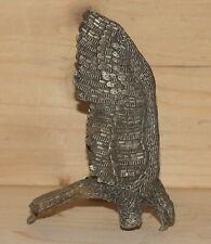 Vintage hand made metal eagle figurine