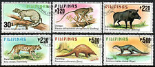 Philippines 1403-1408, CTO. Animals, 1979