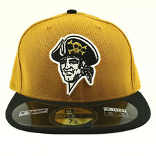 Pittsburgh Pirates Unisex Hat Yellow New Era Cap Fit 9Fifty MLB Baseball - 7 1/2