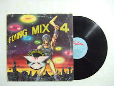 Flying Mix 4  - Disco Vinile 33 Giri LP Compilation Mixed ITALIA 1984