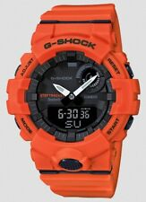 Casio G-Shock * GBA800-4A G-Squad Step Tracker Smart Watch Orange