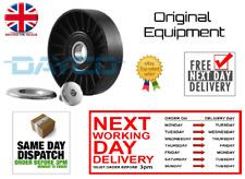 Brand New Drive Belt Idler Tensioner V-Ribbed Guide Pulley Saab 9-3 9-5 2.0 2.3