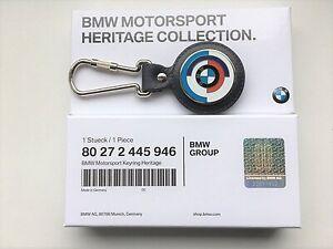 80272445946 BMW Motorsport Heritage Key Ring Pendant