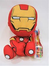 Marvel Avengers IronMan soft toy + Justice League Toothbrush kit - RRP $50