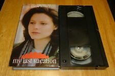 My Last Vacation aka Echoes Of A Summer (VHS, 1976) Jodie Foster - Very Rare