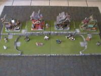 4FT Halloween Village Display Platform Base H45 For Lemax Dept56 Dickens + More