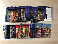 Street Fighter Movie Trading card base set single cards by Upper Deck 1995