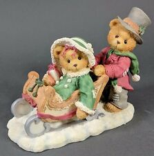 *Mint* Cherished Teddies ~ Lindsey and Lyndon - 1996 Fall Catalog (141178A)