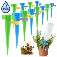 12pcs Automatic Flower Plant Self-Watering Tool Drop Drip Garden Water Device