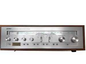 Mid- 70s Like NOS Yamaha Cr 820 Superior Receiver Time Capsule! W/Box!