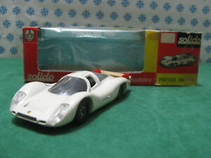 Vintage - Porsche 908 Long Tailed The Mans 1969 - 1/43 Solido N°174