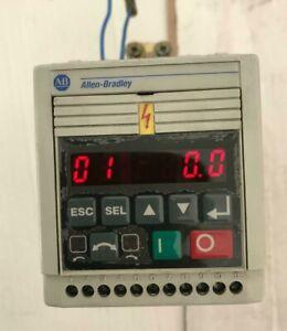 ALLEN BRADLEY 160S-AA03NSF1 SER. B ANALOG S.F FRN 5.01 SPEED CONTROLLER
