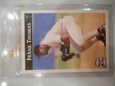 1992 Front Row Frank Thomas Chicago White Sox Baseball Card