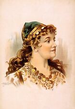 Gypsy Woman Theatrical Poster 1892 11x8 Inch Reprint