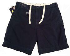 Mens Sz 52B Ralph Lauren Polo Classic Fit Aviator Navy Blue Shorts NWT $85