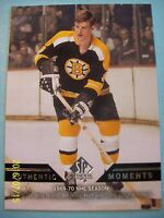 "2013-14 Upperdeck SP Authentic ""Authentic Moments"" # 154 Bobby Orr! Great Card!"