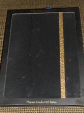 CYNTHIA ROWLEY MAGNETIC FOLIO for 9 to 10 Inch TABLETS Black Gold New