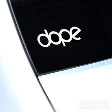Dope Decalcomania Sticker JDM Auto Furgone finestra Euro Vag Dub Drift JAP piccolo fatlace
