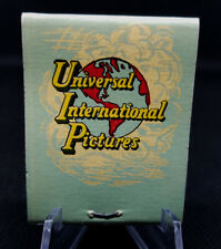 1940s UNIVERSAL INTERNATIONAL PICTURES MATCHBOOK ~ UNIVERSAL STUDIOS HOLLYWOOD