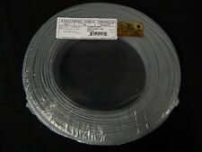22 GAUGE 2 CONDUCTOR 100FT GRAY ALARM WIRE STRANDED COPPER HOME SECURITY CABLE