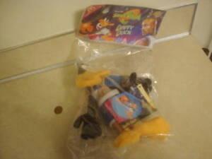 Vtg 1996 Space Jam Tune Squad DAFFY DUCK Plush Toy in Original Bag Warner Bros.!
