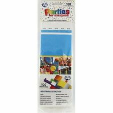TYVEK WRISTBAND BLUE PACK OF 100 EVENT PARTY ENRTY IDENTIFICATION PROOF